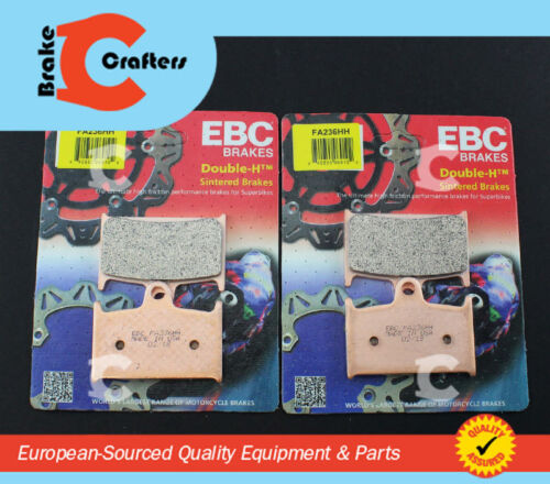 1994-1998 TRIUMPH SPRINT CARB FRONT EBC HH RATED SINTERED BRAKE PADS 2 PAIR