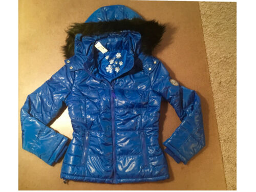 fourrure royal fausse Hooded 120 bleu Aeropostale Nwt avec Puffer xOpzwYqyP
