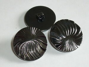 6 Stück Metallknöpfe Knopf Ösenknopf Trachtenknopf  25 mm gold  NEUWARE #114#