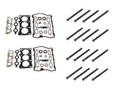 OEM Reinz Head Gasket Pair Set of Left /& Right for Audi A4 A6 VW Passat V6
