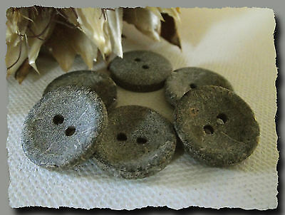 22 mm 2,2 cm 4 trous Gray Button sewing neuf lot couture 4 BOUTONS  GRIS
