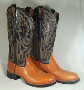 086aaa47fe3 Details about New Women's Ariat Cobalt Pro Brown Black Leather Western  Cowboy Boots Size 6.5B