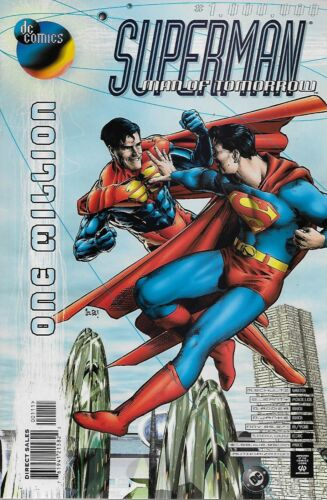 1998 One Million Superman The Man of Tomorrow No.1.000.000