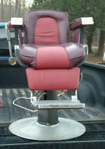 Vintage BELVEDERE Barber Chair EBay