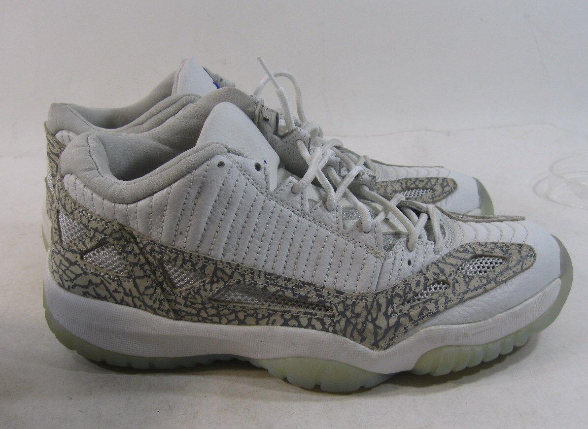 Nike Air Jordan 11 Xi Retro Low 306008-142 Size 9 2003 White Cobalt Zen Size 8.5