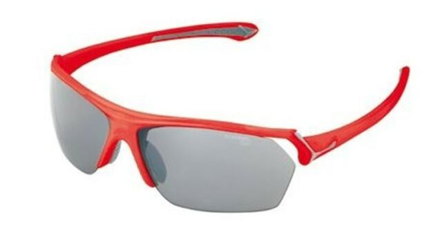 c4c5e4a5c Cébé Wild Cycle Glasses Red Frame Grey Flash Silver Yellow Clear Lens