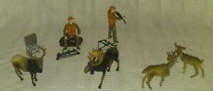 Deer-Hunting-Toy-2-Hunters-2-Deer-2-Moose-2-bows-1-gun-unique-toys