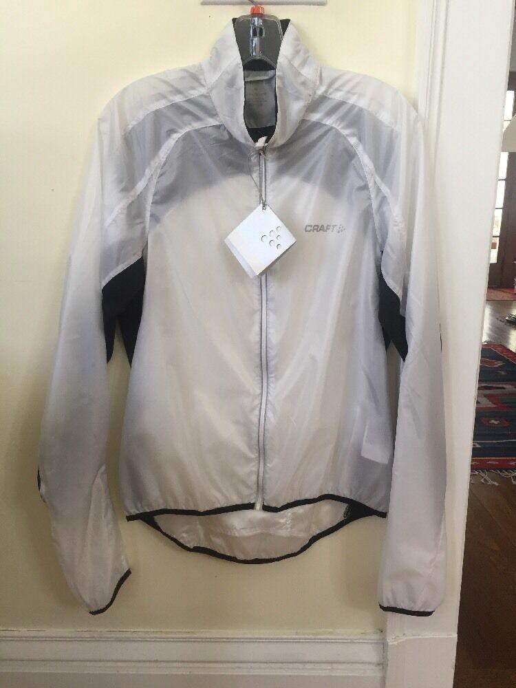 Nueva chaqueta para hombre de luz de rendimiento de  artesanía blancoo Tamaño Mediano  deportes calientes