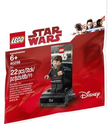 Bagged LEGO Star Wars The Last Jedi DJ Set #40298
