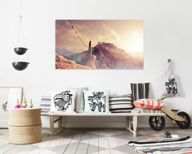 3D Der Himmel Berg 613 Fototapeten Wandbild BildTapete AJSTORE DE Lemon