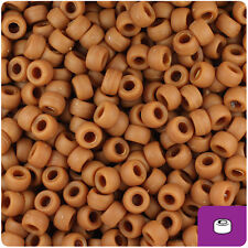 1000 Royal Blue Opaque 7mm Mini Barrel Plastic Pony Beads Made in the USA