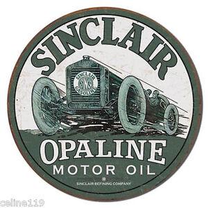 Details About Sinclair Oil Race Car Vintage Style Metal Signs Man Cave Garage Decor 69