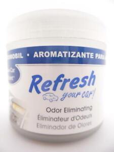 Refresh Your Car! New Car Scent Odor Eliminating Gel Air Freshener 84941, 4.5 oz