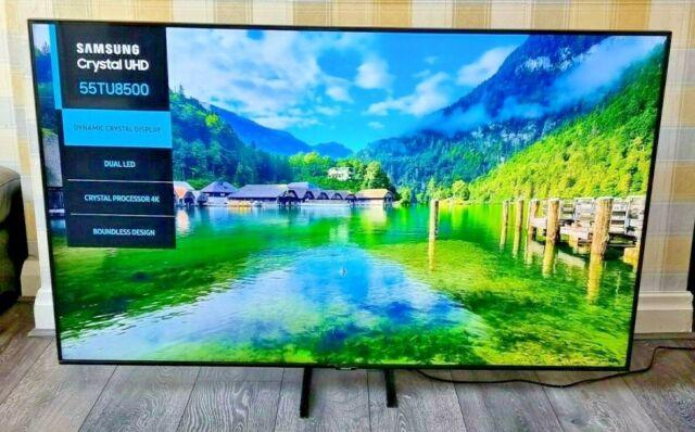 "Samsung UE55TU8500 55"" 2160p 4K UHD HDR Smart WiFI AppleTV Bixby Alexa LED TV"