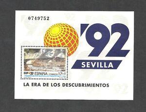 ESPANA-3191-HB-EXPOSICION-UNIVERSAL-DE-SEVILLA-EXPO-039-92-NUEVO