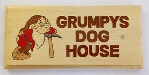 Grumpys placa/cartel De Casa De Perro-marido Cobertizo Garaje papá 471