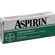 ASPIRIN 0,5g  20Tabletten 500mg Kopfschmerzen 3628124