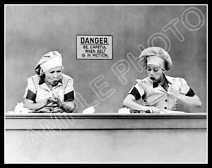 I-Love-Lucy-PHOTO-Candy-Factory-Episode-Lucille-Ball-TV-Show-1952