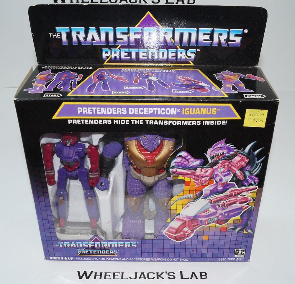 Iguanus Pretender MIB 100% Complete 1988 Vintage Hasbro G1 Transformers