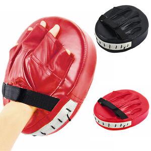1*MMA Target Focus Punch Pad Boxing Mitts Karate Muay Thai Kick Training Tools