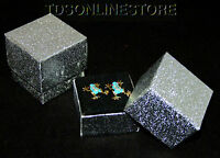 Sparkly Silver Earring Boxes 10 Qty