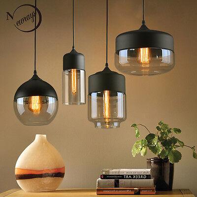 Brief Contemporary Hanging Gl Pendant Lamp Lights Fixtures Led Lighting Hot Ebay