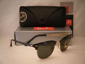 9c7455455c8 Ray Ban 3716 Black Gold w Green Crystal (G-15) Lens NEW sunglasses ...