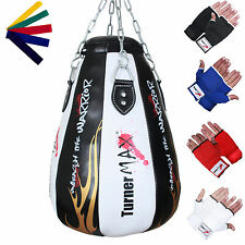 TurnerMAX mais BAG mais BALL PUNCH BAG upppercut SACCO punching bag nero bianco