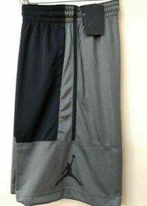 NEW Nike Air Jordan Dri-Fit Basketball Shorts AR2833 018 Gray//Black Size LARGE