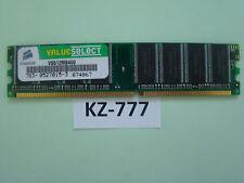 Corsair Value Select - DDR 512 MB - DIMM  - 400 MHz / PC3200 - CL2.5 #KZ-777