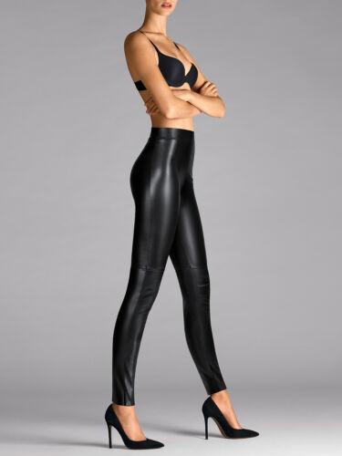 nuovo in Estella pantaloni ovp Wolford leggings similpelle leggings YqInd
