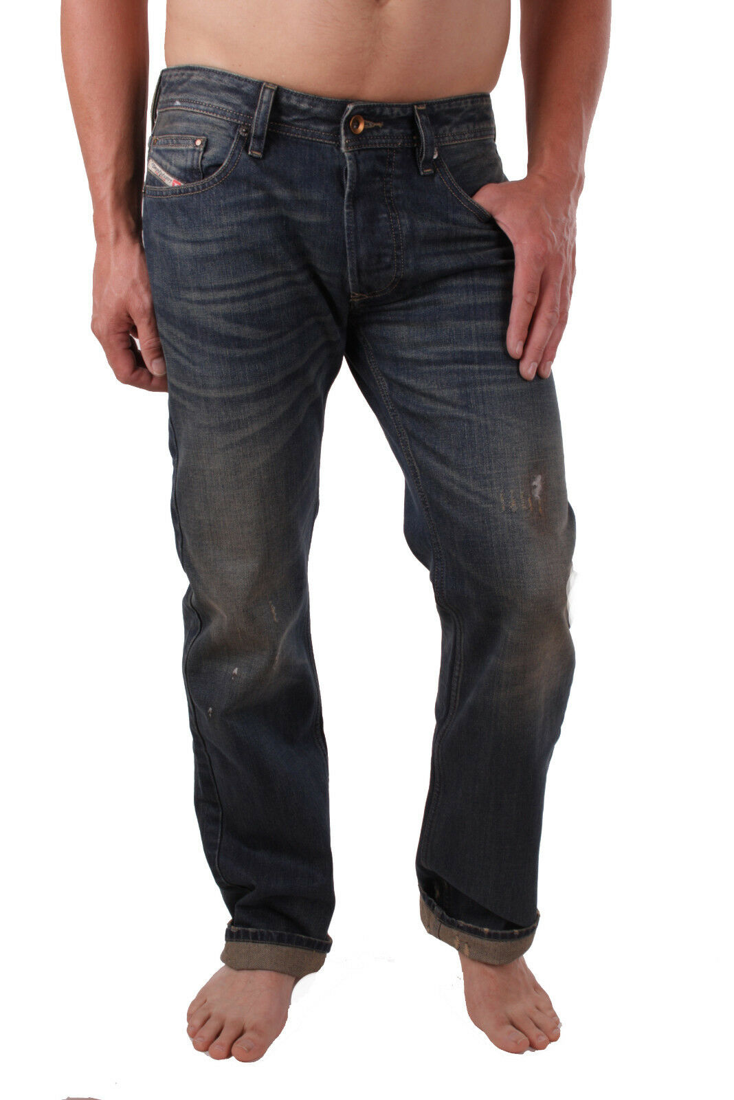 Diesel Men's Jeans Pants Larkee Regular Straight 0r33u