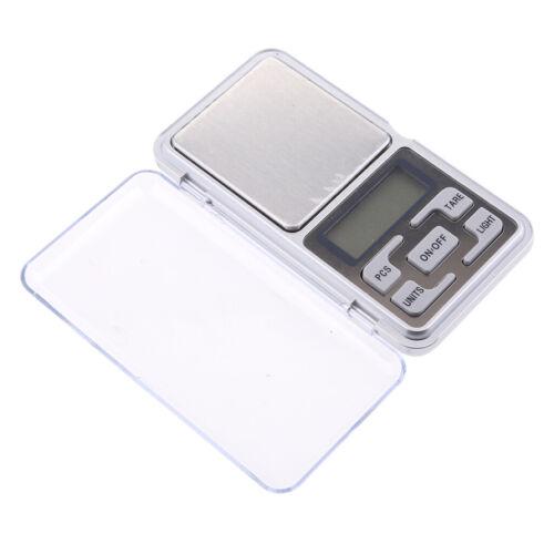 200g x 0.01g Digital Scale Schmuck Gold Kraut Balance Gewicht Gram LED