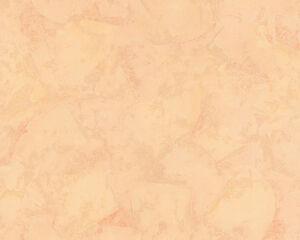 Tapeten Mediterran uni struktur vlies tapete spachtelputz putzstruktur apricot