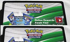 """2 x Pokemon """"Noble Victories*""""  Booster Pack Online Code Cards TCGO (Unused)"""