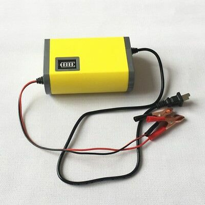 12V 2A Smart Battery Charger for Car Motorcycle LED Maintainer Trickle
