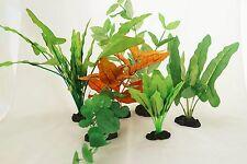 Aquarium Plants for Plastic Tank Silk COMBO B (7)
