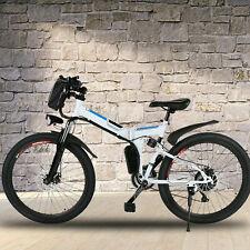 21-Speed Electric Bike 350W 26'' Folding Electric Mountain Bicycle City EBike+s6