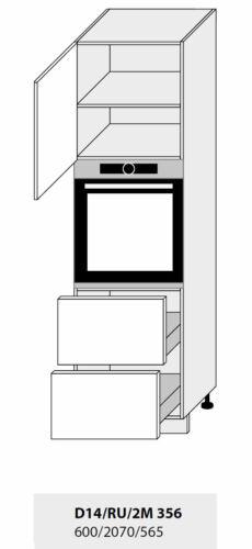Küchenschrank Hängeschrank Unterschrank Hochschrank lava vanille matt 67421870