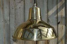 Superb solid brass ceiling light factory lamp shade light pendant barn BFSSR4