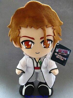 "Japanese Anime BLEACH  Aizen Sousuke Plush Doll Toy 12""High"