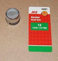 Ace Hardware Aerator Small Male 12 13/16 X 27 Thd Chrome 2 Gpm 40091 106l