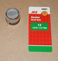 Ace Hardware Aerator Small Male 12 13/16 X 27 Thd Chrome 2 Gpm 40091 106l