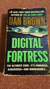 Details about Digital Fortress by Dan Brown (author of Davinci code)