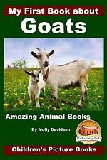 My First Book about Goats - Amazing Animal Books - Children's Picture Books...