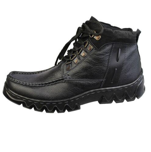 Mens Ragazzi Dolce Alto In Pelle Lavoro Top Stivali Ginnastica alla Caviglia Scarpe Da Ginnastica Casual Scarpe