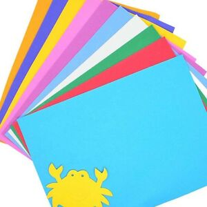 Image Is Loading Assorted Colours EVA Fun Foam Paper A4 Sheets
