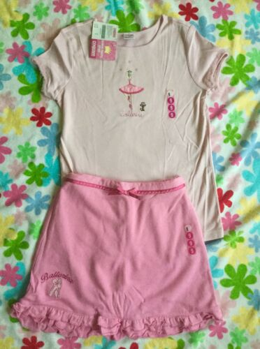 New Gymboree Girls Glamour Princess Line Ballerina Top and Skorts Sets Size 9