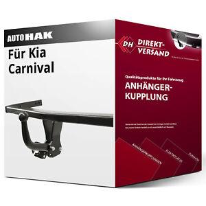 Kia Carnival UP GQ 00-05 Anhängerkupplung AHK starr 7pol E-Satz
