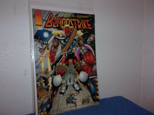 Details about  /VINTAGE NEW IMAGE COMIC  BLOODSTRIKE # 25  FIRST PRINTING...1994......#369